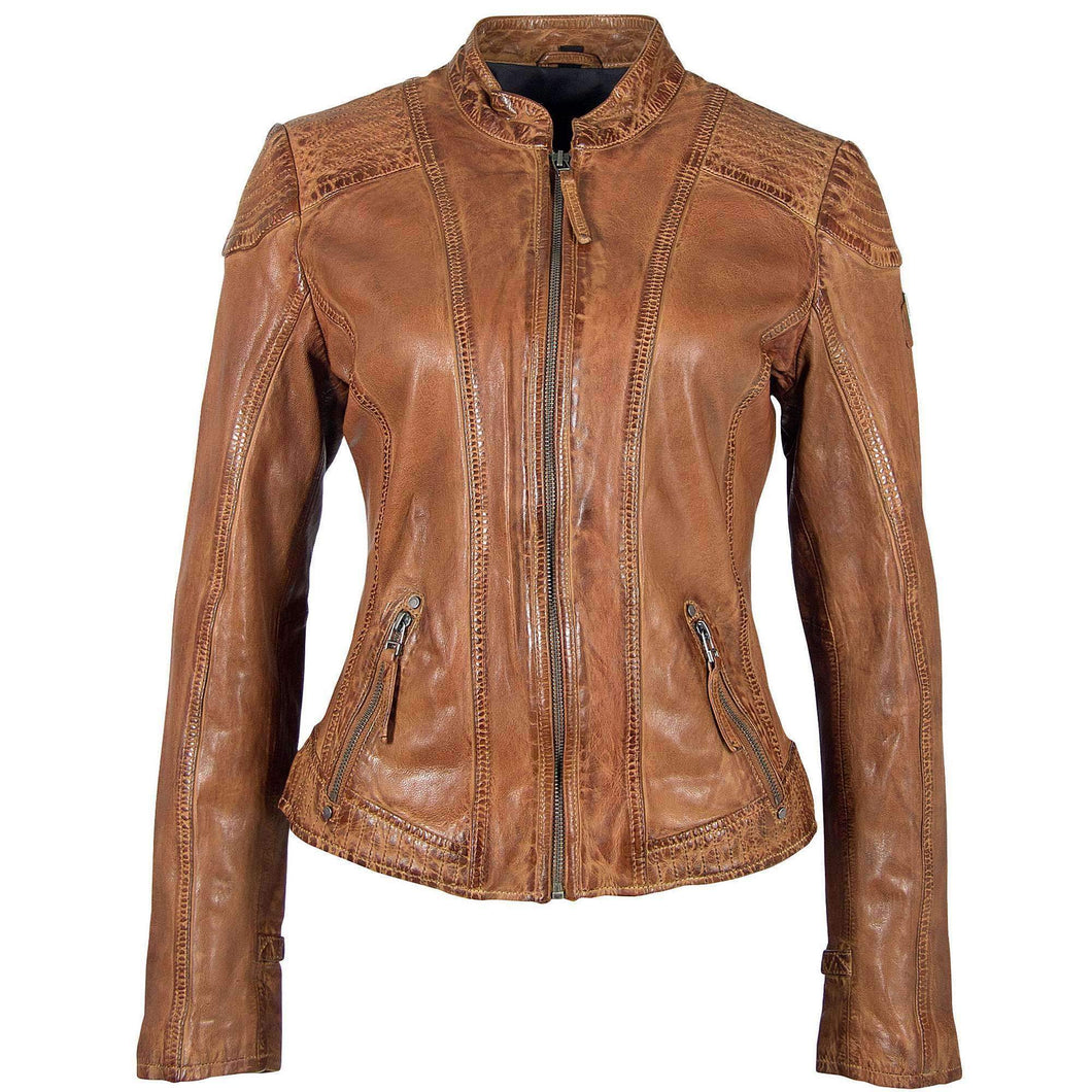 Pacey RF Leather Jacket