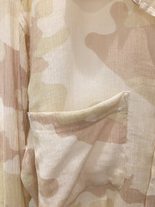Sanctuary - Waverly Boyfriend Shirt Sand Dune Camo