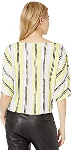 Atala Striped V-Neck Top-Cashmere and Cupcakes