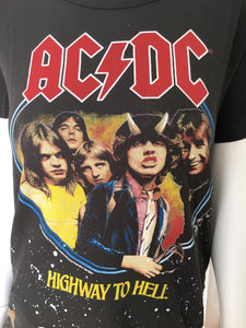 AC DC Graphic Band Tee