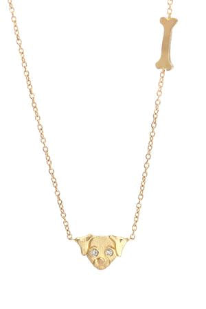 Mini Dog and Bone Necklace - Victoria Cunningham
