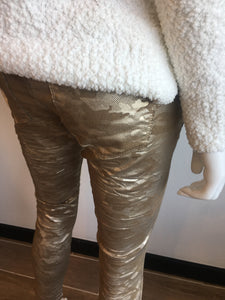 Gold Camo Flog Pants