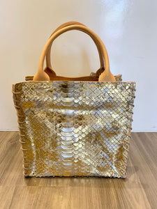 Let & Her Aztec Mini, Gold Embossed