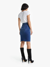 Load image into Gallery viewer, Mother - The High Waisted Slice Knee Skirt