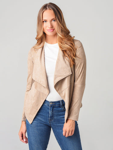 BB Dakota- Wade Faux Suede Jacket