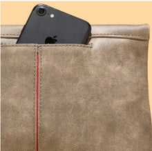 Load image into Gallery viewer, Hammitt VIP - Medium, Pewter Brushed Suede, Brushed Gold Rivets