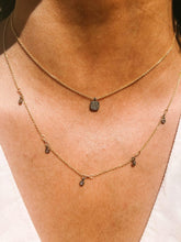 Load image into Gallery viewer, Pave Diamond Delicate Necklaces