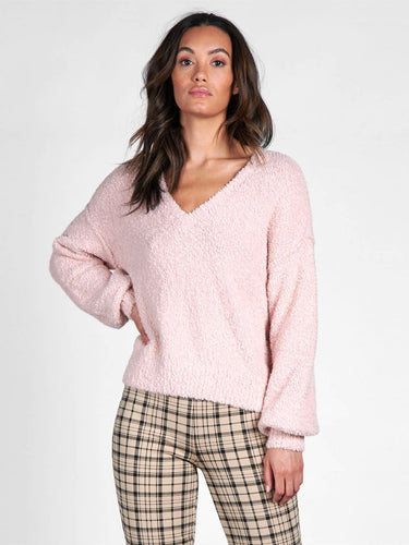 Sanctuary - V Neck Cozy Sweater