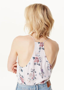 Cami NYC Racer Georgette Cami