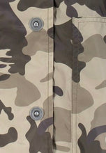 Load image into Gallery viewer, Anorak - Long Camo Print Anorak