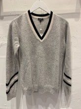 Load image into Gallery viewer, Minnie Rose - Chevron Cashmere Sweater