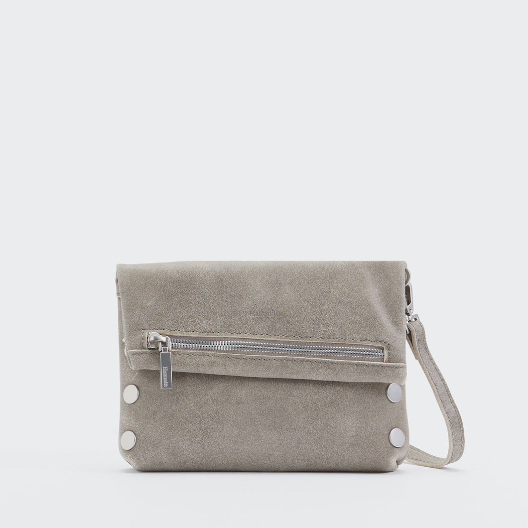 Hammitt - VIP Small Clutch, Pewter/Brushed Silver