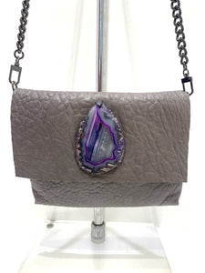 Evoke - Bahama Bag Taupe/Purple Agate