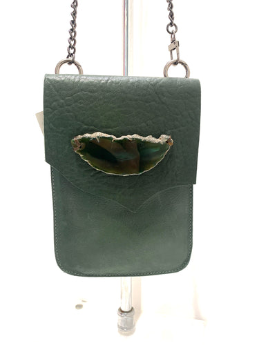 Evoke - Paulina Bag Green/Agate