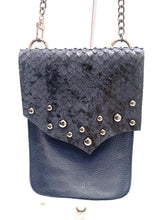 Load image into Gallery viewer, Evoke - Paulina Bag Navy/Bubble