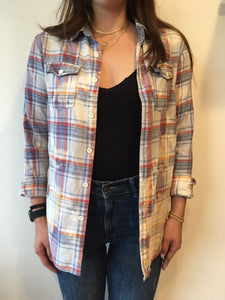 Vintage Plaid Flannel - Band/Music