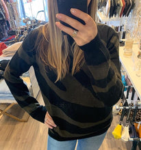 Load image into Gallery viewer, Brodie - Lulu Zebra Cashmere Sweater