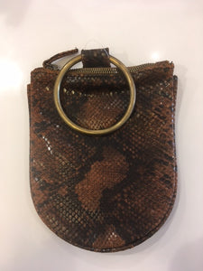 Kim White - Mini Ring Wristlet