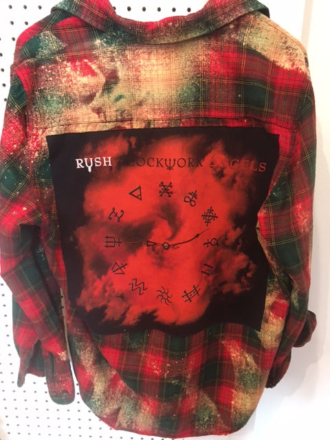 Upcycle Envy - Vintage Flannel - Rush