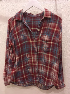 Upcycle Envy - Vintage Flannel - The Who S/M