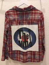 Load image into Gallery viewer, Upcycle Envy - Vintage Flannel - The Who S/M
