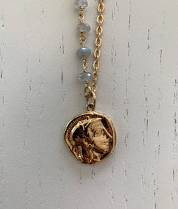 Ancient Roman Coin Replica Necklace
