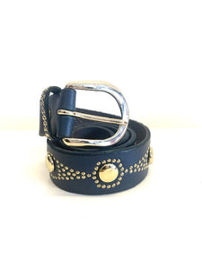 Studded Leather B. Belt