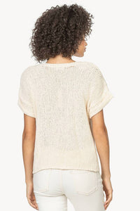 Easy V-Neck Sweater  Lilla P