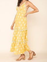 Load image into Gallery viewer, Summerland Cross Back Maxi Dress