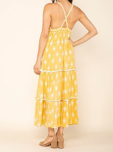Summerland Cross Back Maxi Dress
