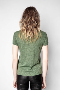 Zadig & Voltaire - WALK AMOUR OVERDYED T-SHIRT