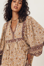Load image into Gallery viewer, Spell & The Gypsy - Sundown Boho Mini Dress in Spice