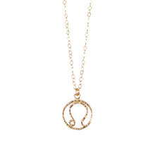 Load image into Gallery viewer, Leo Necklace - Gold Fill