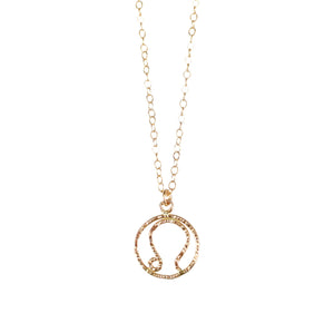 Leo Necklace - Gold Fill