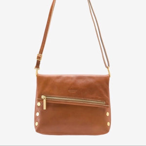 Hammitt VIP Medium - Cognac/Brushed Gold