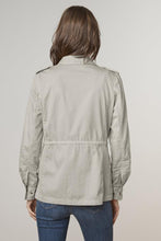 Load image into Gallery viewer, Velvet Ruby Army Jacket