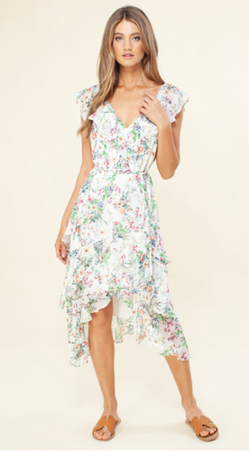 Hale Bob - GUILIANA FLOUNCE DRESS