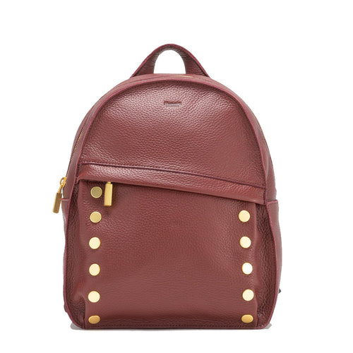 Shane Backpack Large- Plum/Brushed Gold