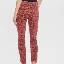 Mother High Waisted Looker Ankle Fray - Animal Attraction