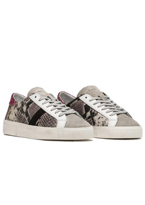 D.A.T.E. - Hill Low Top Wild Sneakers Python