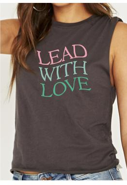 Muscle Tank Lead With Love