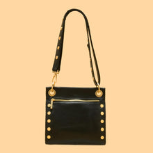 Load image into Gallery viewer, Hammitt Medium Tony Crossbody Bag - Black Brushed Gold