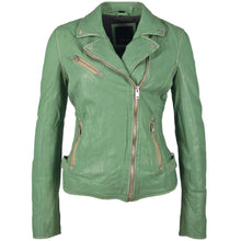 Load image into Gallery viewer, Sofia 4 RF Leather Jacket