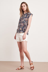 Velvet - Mirasol Sleeveless Tie Top