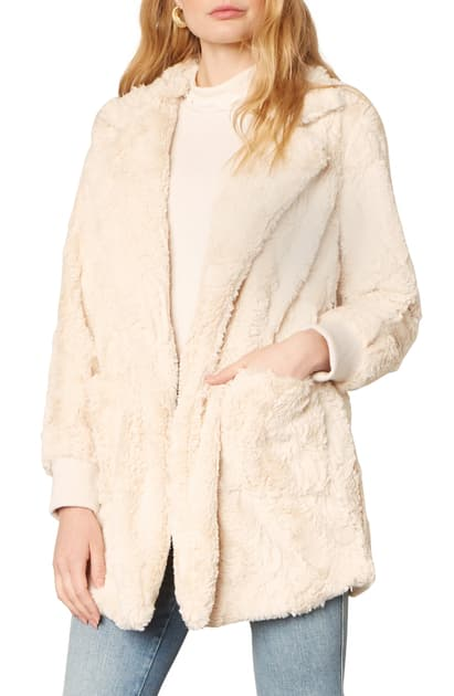 BB Dakota - Swirl Next Door Faux Fur Jacket