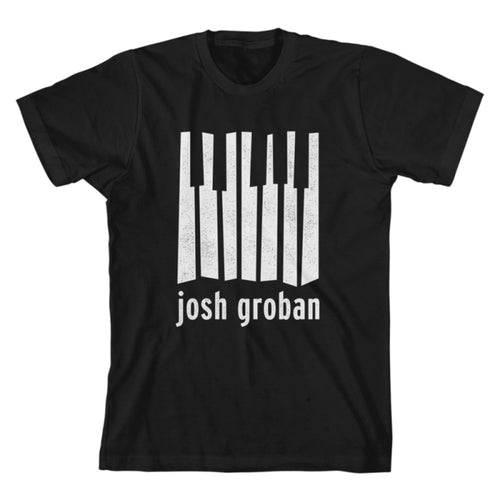 Josh Groban Black Crooked Keys Tee