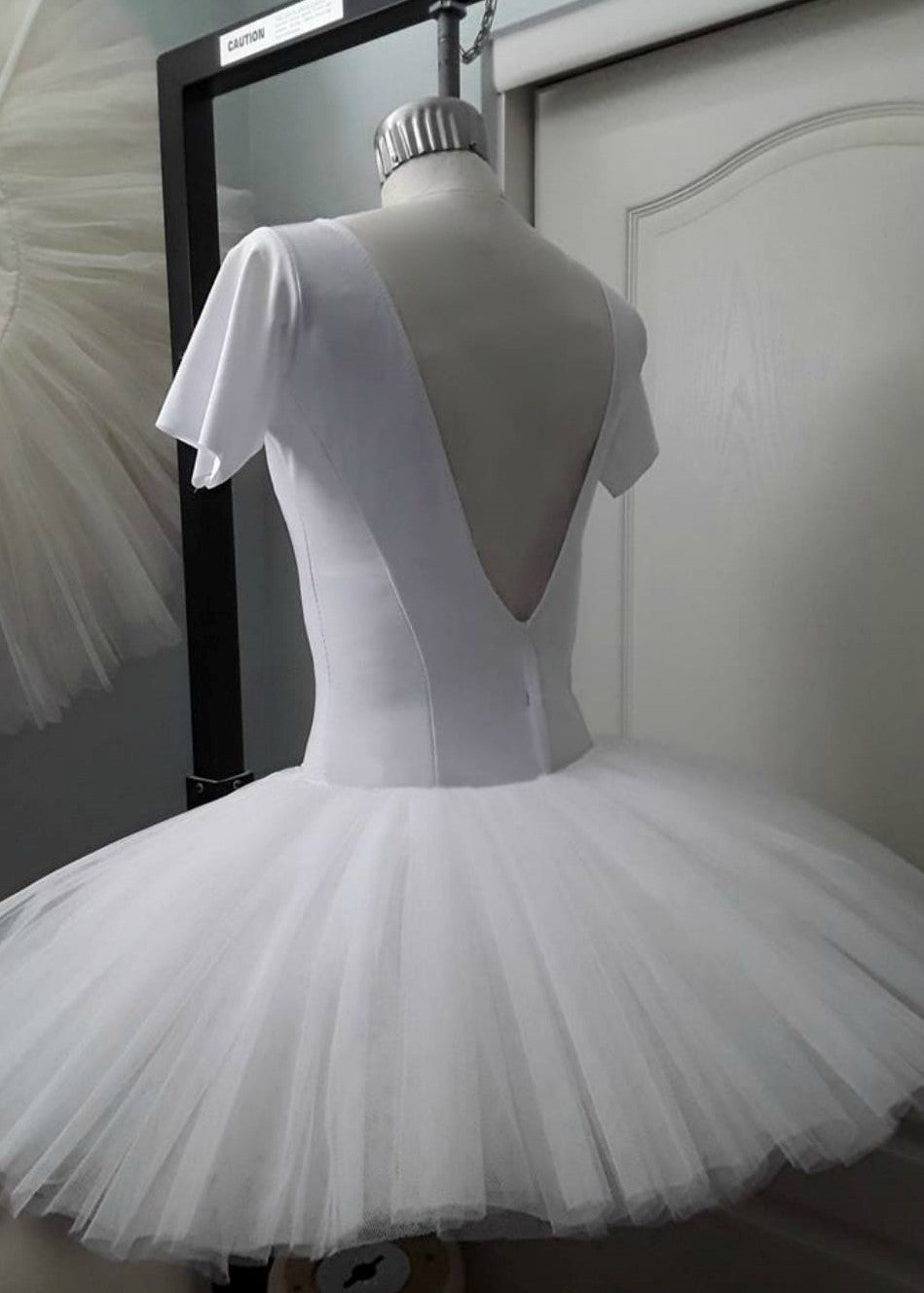 Ballet Stretch Bodice with Sleeves by Tutus That Dance