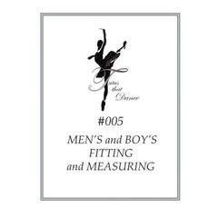 #005 MEN'S FITTING and MEASURING