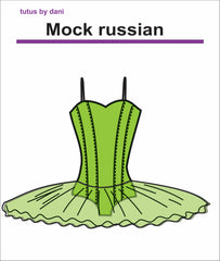Mock Russian Tutu Pattern by Tutus That Dance, Tutus by Dani