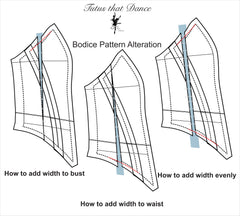 Perfect fit for bodices by Tutus That Dance